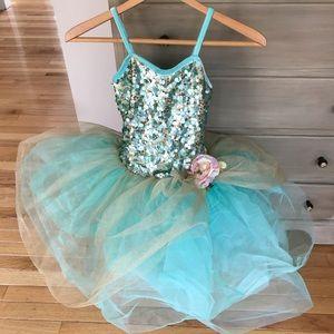 Curtain Call Dance Costume Tutu Ballerina Medium